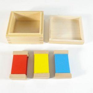 Caja de color nº1 Montessori