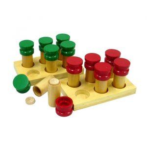 Cilindros de olor Montessori