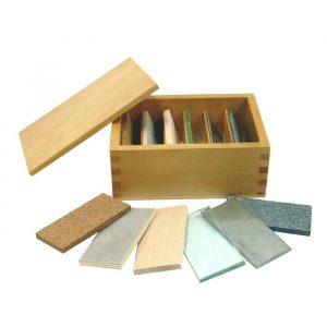 Caja de tablas térmicas Montessori