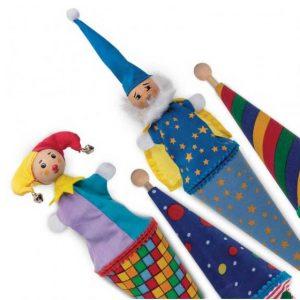 Marioneta de palo - juguetes de madera