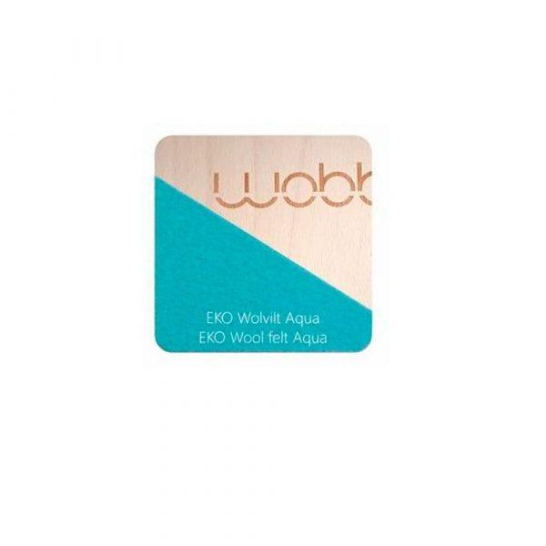 Tabla curva wobbel board azul