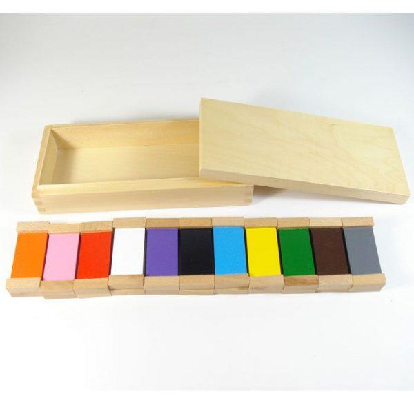 Caja de color nº2 Montessori