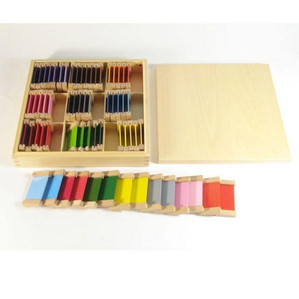 Caja de color nº3 Montessori