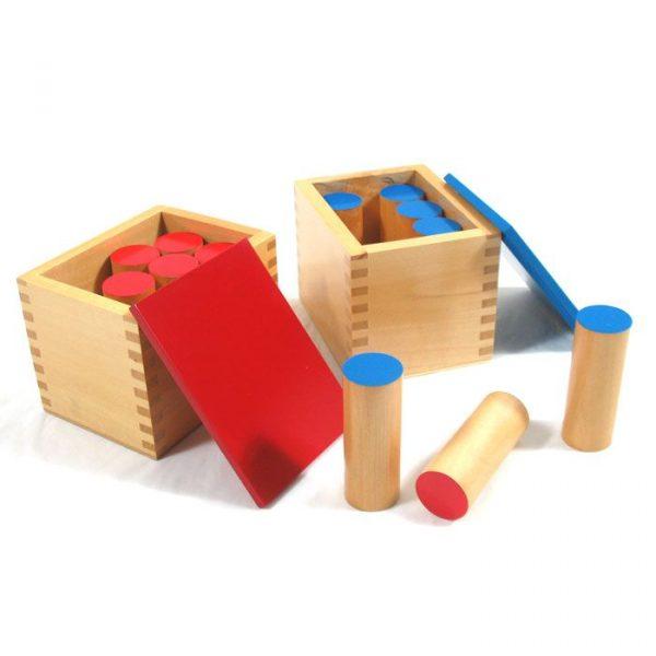 Cilindros de sonido Montessori