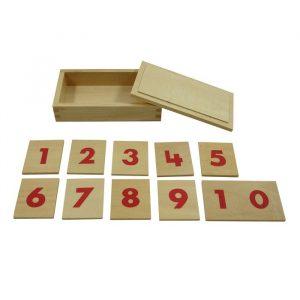 Números para barras numéricas Montessori