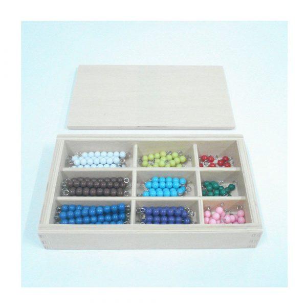 Caja de perlas Montessori