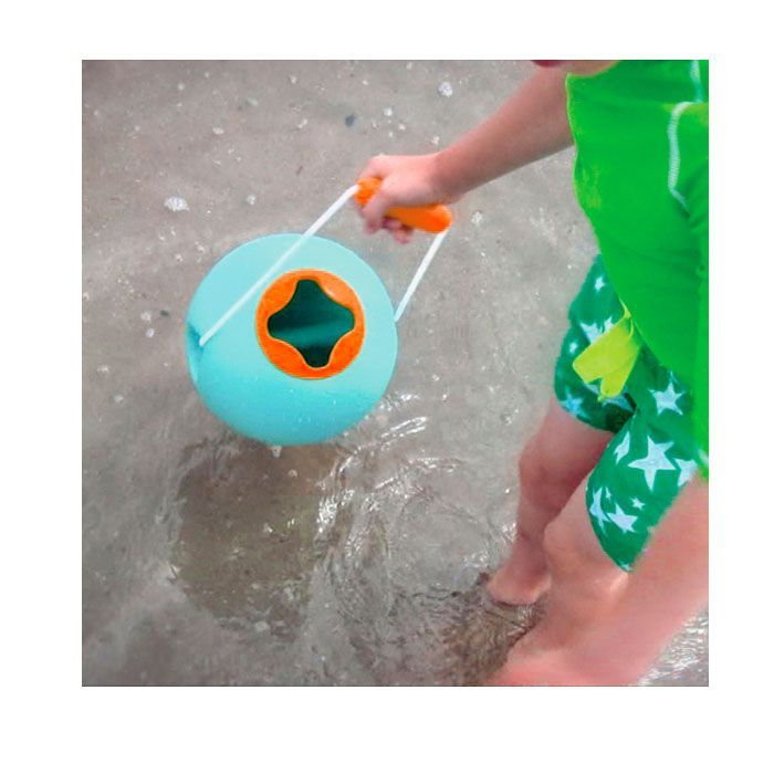 Cubo para agua Ballo azul vintage de Quut