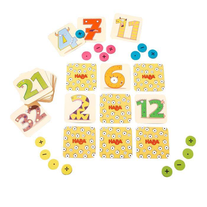 Monstruos de las matemáticas, juego de mesa