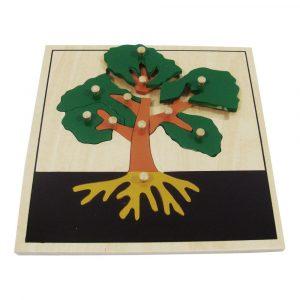 Puzzle árbol Montessori