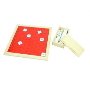 Tabla de Pitágoras Montessori