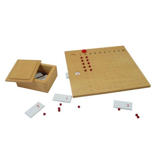 Tablero de Multiplicar Montessori