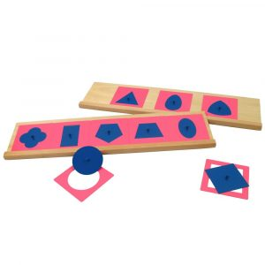 Resaques metálicos Montessori con stand