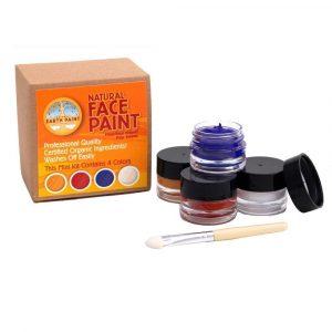 Kit maquillaje ecológico 4 colores