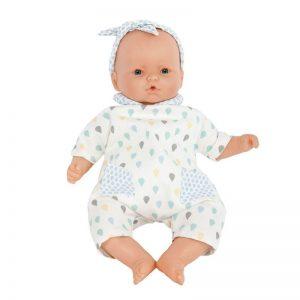 Muñeca bebé gotas azul