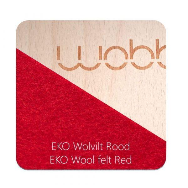 Tabla curva wobbel board rojo
