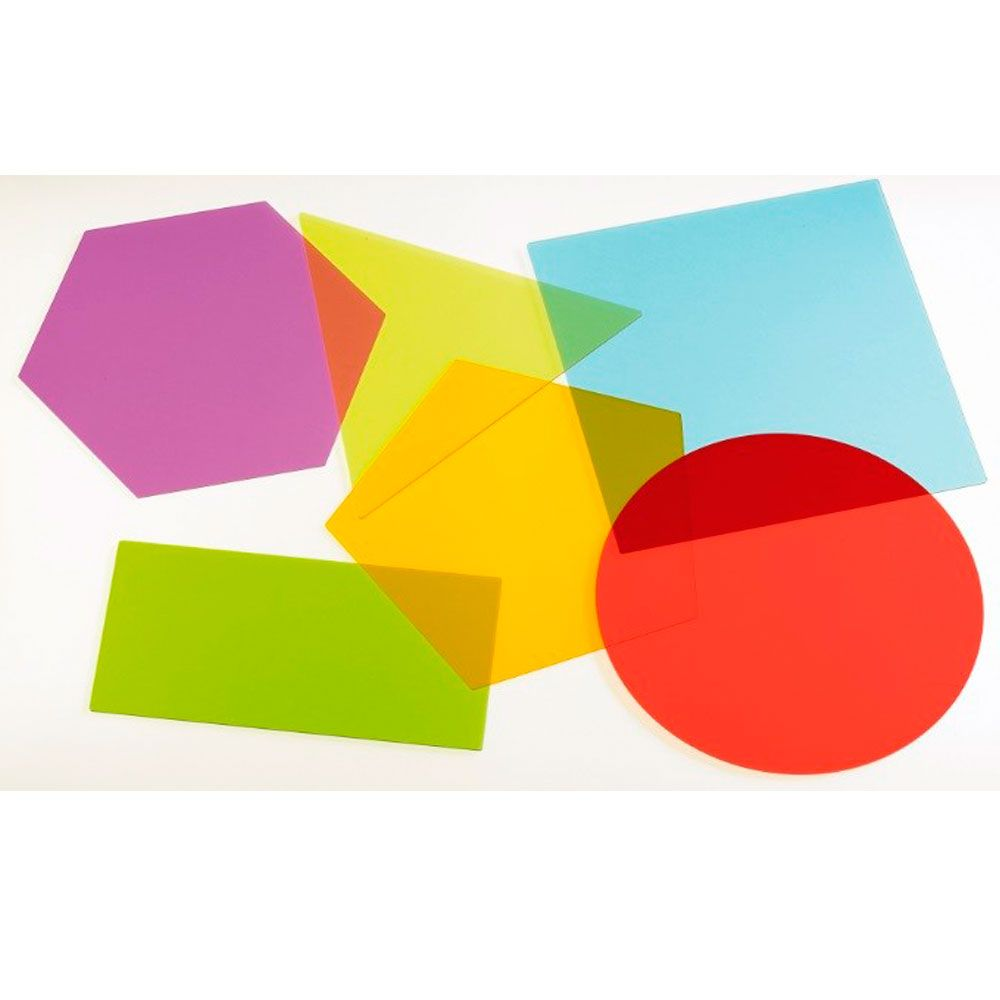 Formas geométricas translucidas