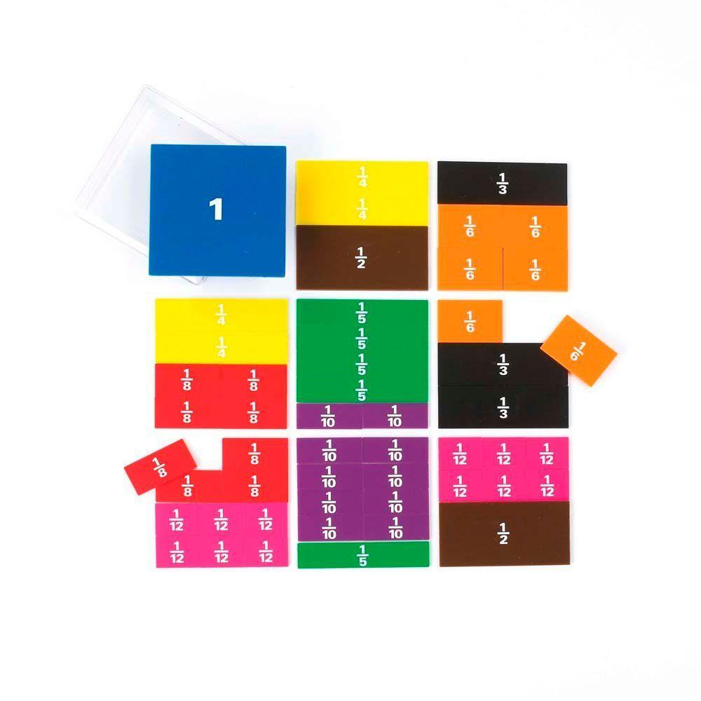 Fracciones cuadrados