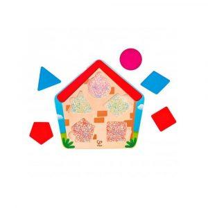Puzzle casa translúcido
