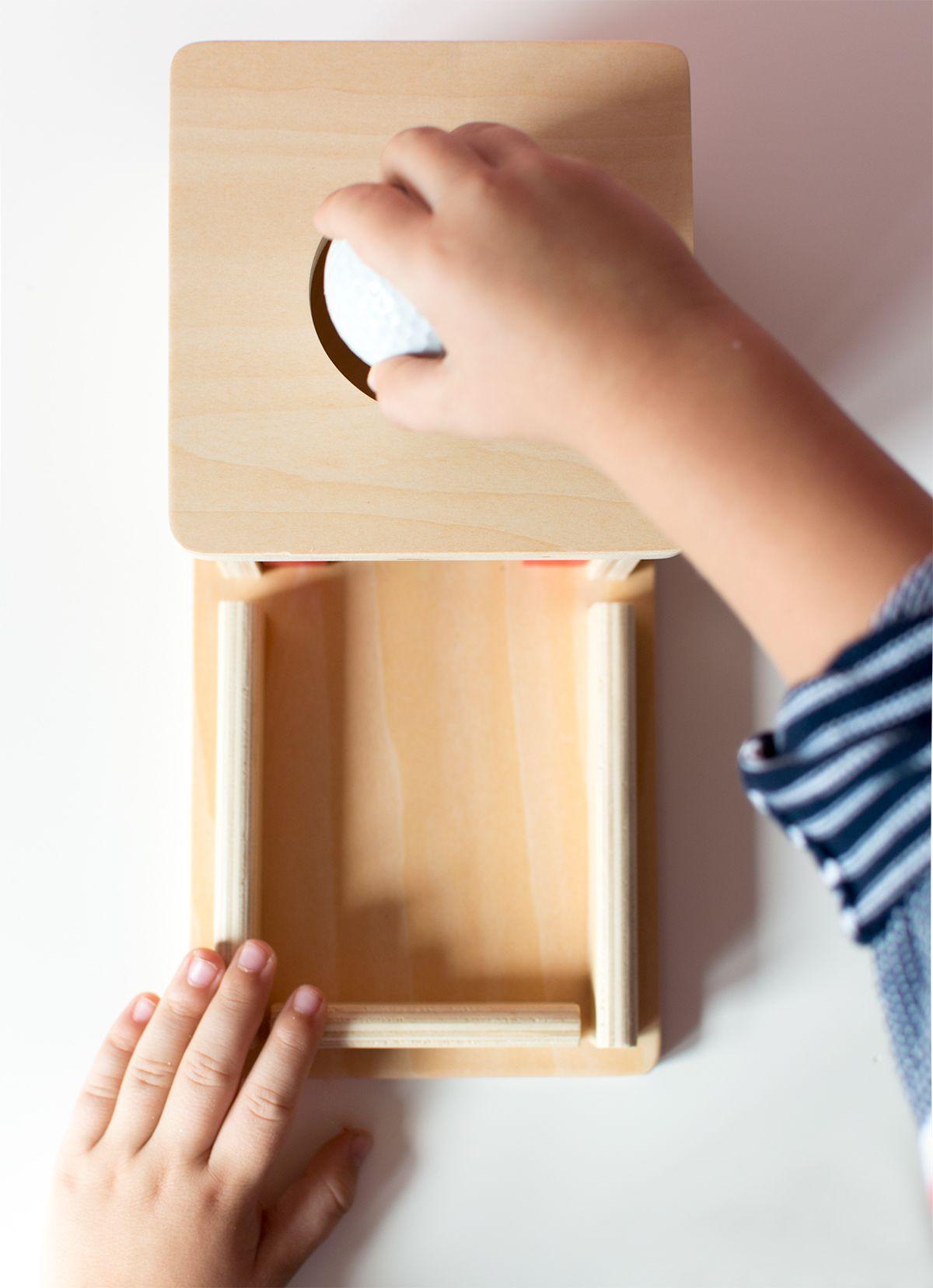 Cajas de permanencia Montessori