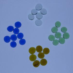 Gemas translúcidas