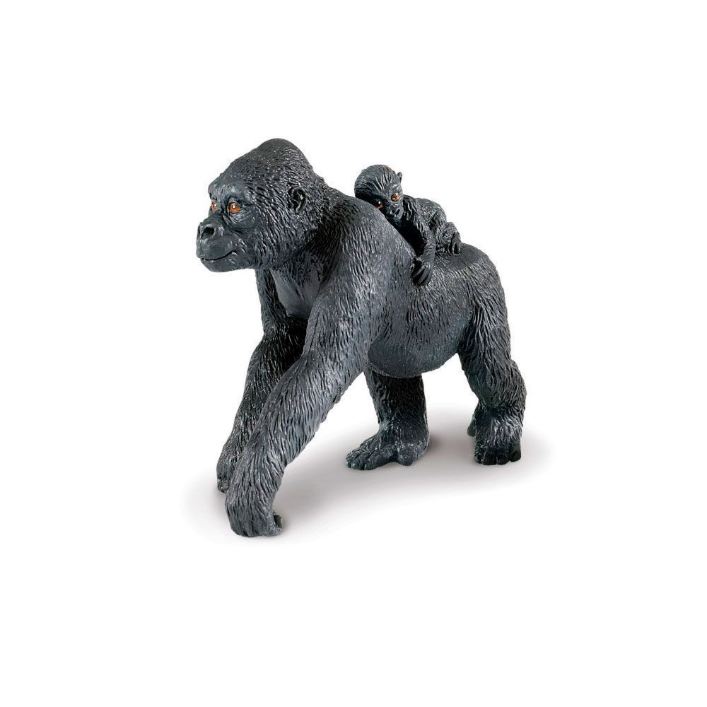 Gorila y bebé
