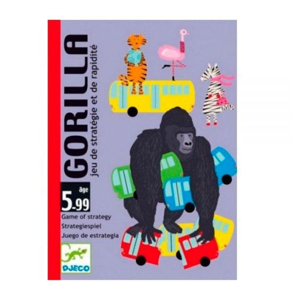 Juego de cartas Gorila