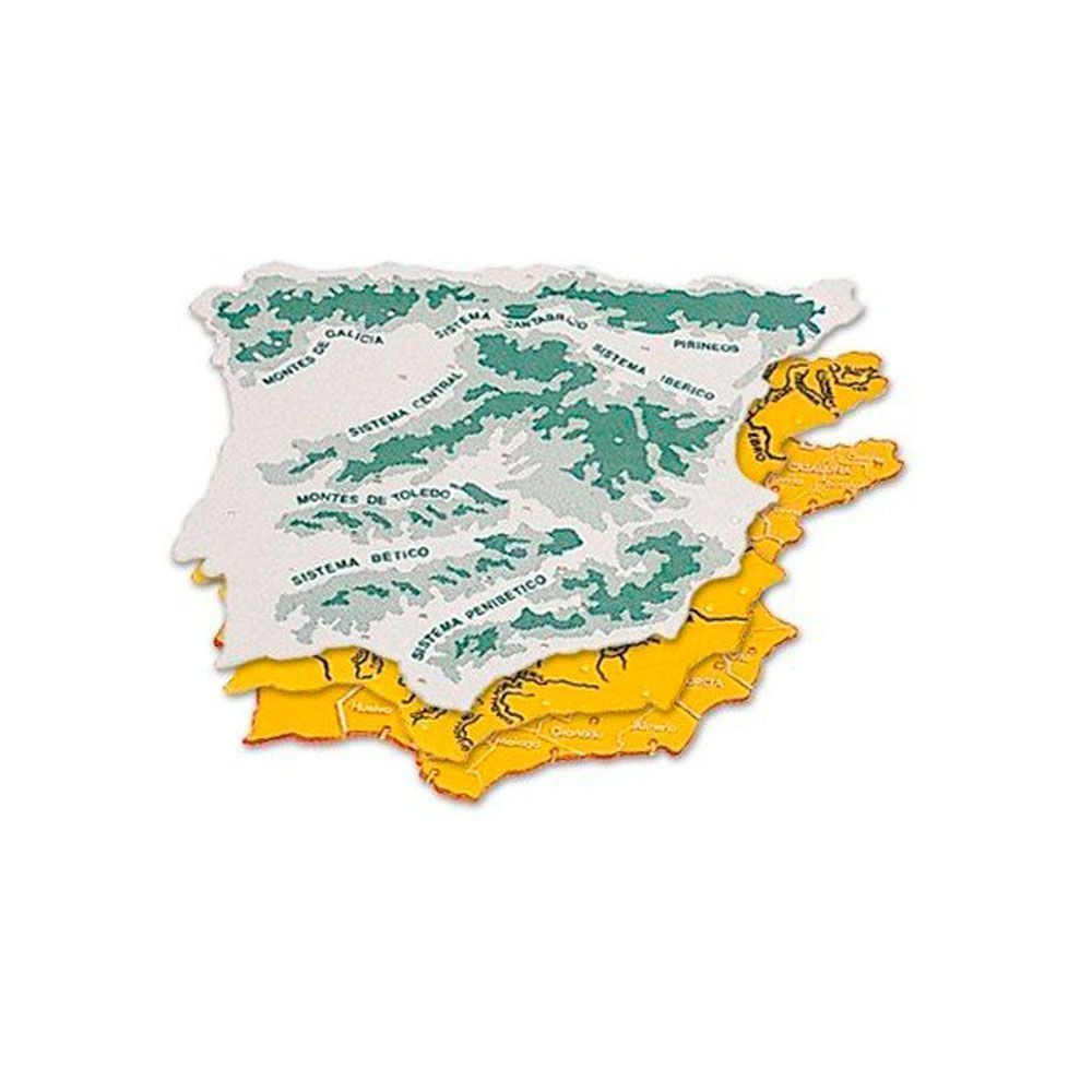 Plantillas mapas España
