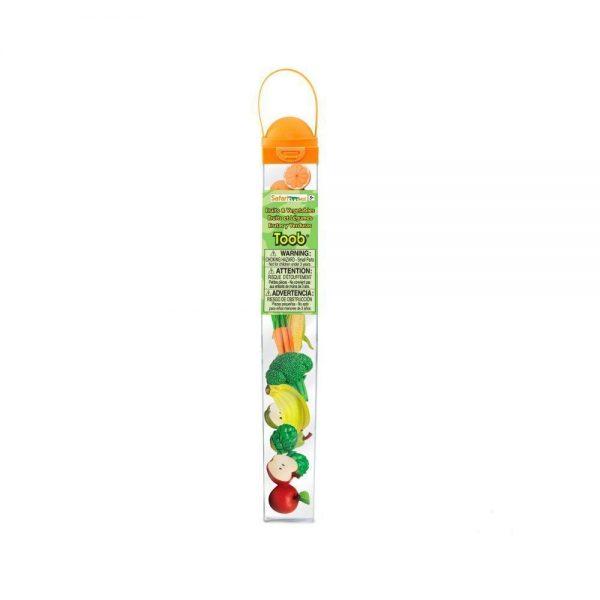 Tubo frutas y verduras