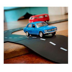 Carretera flexible de caucho