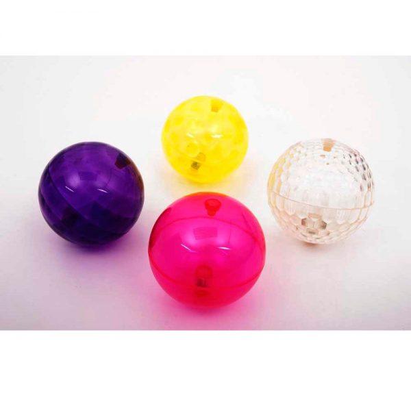 Set de bolas con textura y luz