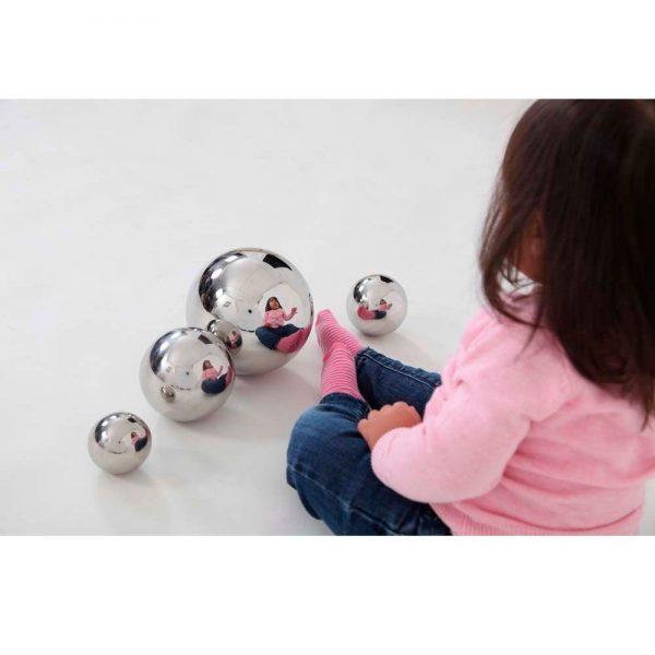 Set de bolas sensoriales con reflejo