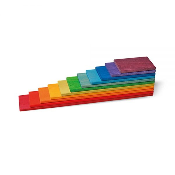 Tablas de construcción arcoíris