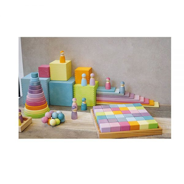 Tablas de construcción pastel