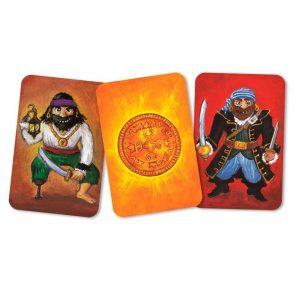 Juego de cartas Pìratatak