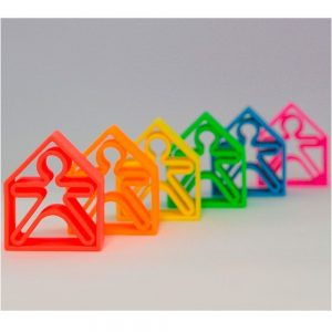 Piezas de silicona para jugar