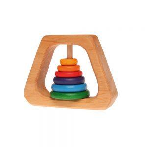 Mordedor pirámide arcoíris