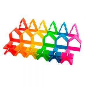 18 piezas de silicona para jugar