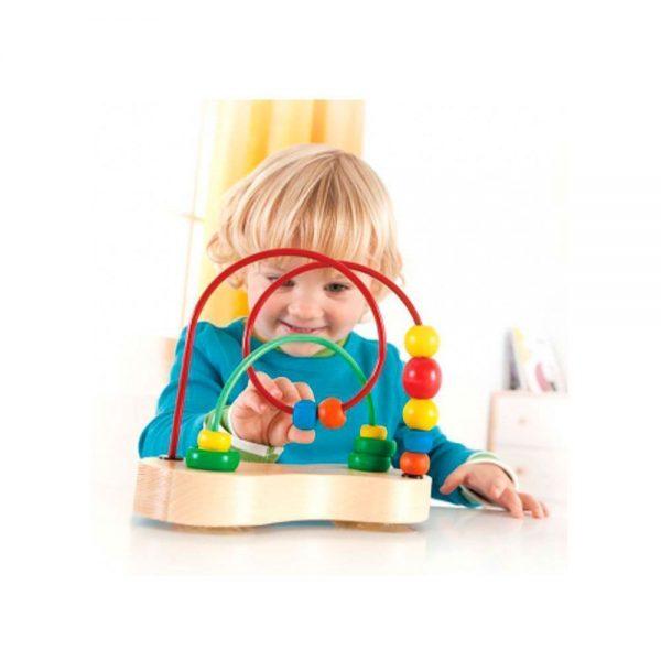 Laberinto bebé con ventosa