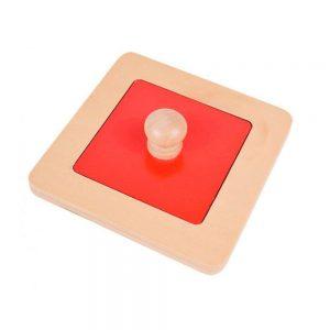 Puzzle cuadrado Montessori