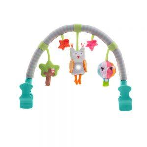 Arco musical con búho