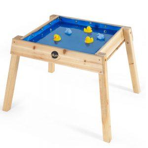 Mesa de madera multiusos agua y arena