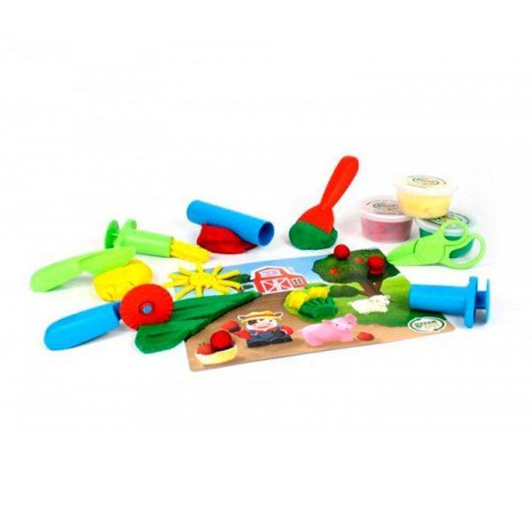 Pack eco plastilina con herramientas