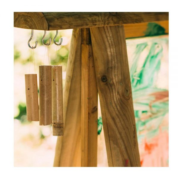 Pizarra de madera para exterior