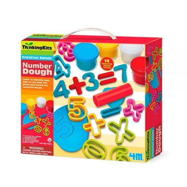 Plastilina números