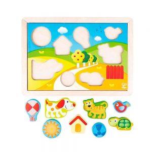 Puzzle 3 en 1 Pepe y amigos