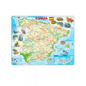 Puzzle España físico