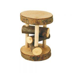Rodari de madera natural