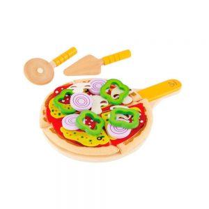 Set de pizza de madera