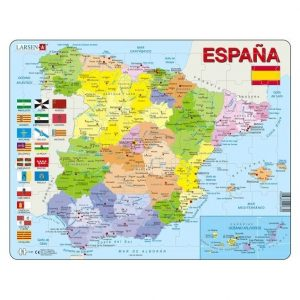 Puzzle mapa España político