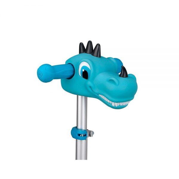 Dragón azul accesorio para patinete